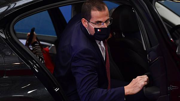 Malta's Prime Minister Robert Abela arrives for an EU summit at the European Council building in Brussels, Friday, July 17, 2020