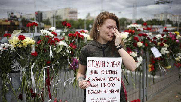 Одиночный пикет в Минске