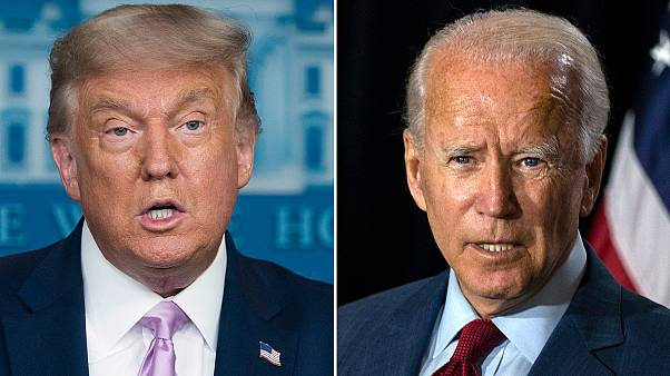 ABD Başkanı Trump ve başkanlık yarışındaki rakibi Joe Biden