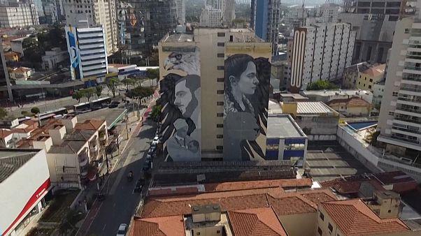 Σάο Πάολο: Υπέροχες τοιχογραφίες γκράφιτι