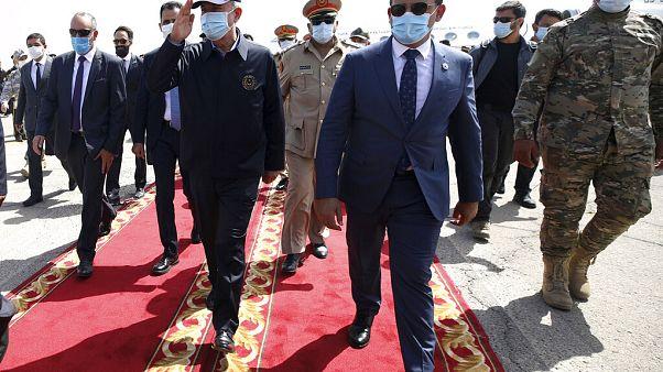 Ο υπουργός Άμυνας της Τουρκίας, Χουλουσί Ακάρ, στην Τρίπολη της Λιβύης
