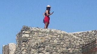 L'architetto nel parco archeologico