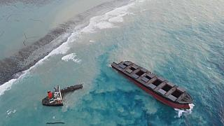 Mauritius arrests captain of ship that spilled oil