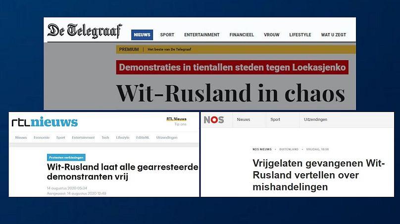 De Telegraaf - RTL Nieuws - NOS