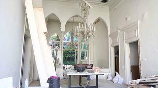 منزل إيلي صعب مصمم الأزياء اللبناني الشهير يتحول إلى ركام جراء انفجار مرفأ بيروت