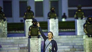 Belarus protestolar ve güvenlik güçleri
