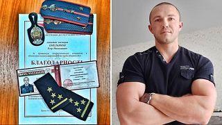 Der ehemalige belarussische Polizist Jegor Jemeljanow