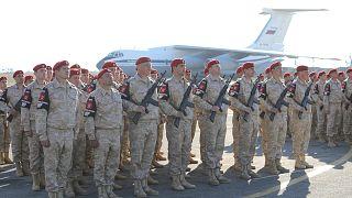 دورية للشرطة العسكرية الروسية