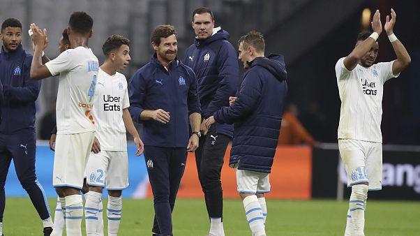 Andrè Villas Boas, allenatore del Marsiglia, alla fine di una partita della scorsa stagione.