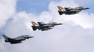 Military Jets over Germany