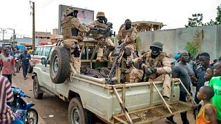 گروهی از نظامیان در مالی