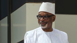 ابراهيم بوبكر كيتا، رئيس مالي الذي قدم استقالته أمس