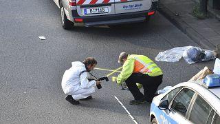 Helszínelés a balesetsorozat után