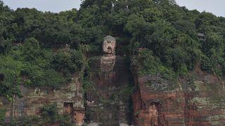 Land unter im Südosten Chinas