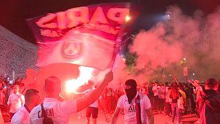 پاریسیها نخستین حضور در فینال لیگ قهرمانان اروپا را جشن گرفتند
