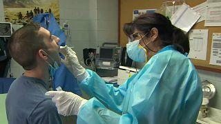 Teste ao coronavírus