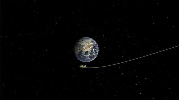 Grafische Darstellung des Asteroiden