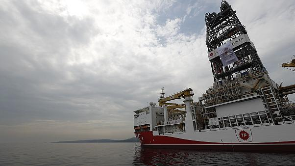 Turkish drillship 'Yavuz' crosses the Marmara Sea on its way to the Mediterranean amid ongoing disputes with Greece and Cyprus.
