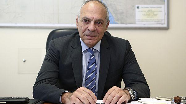 Alexandros Diakopoulos, Greece's top national security advisor, has stepped down.
