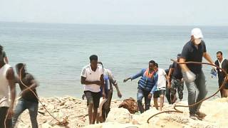 Libyan Shipwreck Leaves 45 African Migrants Dead