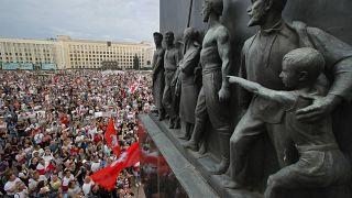Belarus TV çalışanları da greve katılma kararı aldı