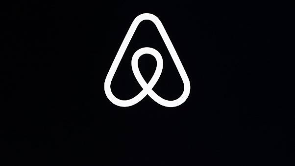 The Airbnb logo.