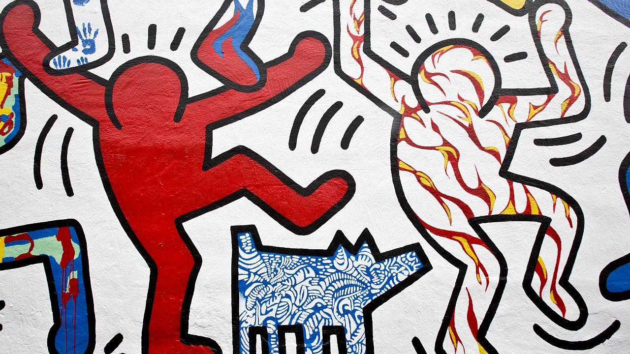 """Un dettaglio del murales di Philadelphia """"We The Youth"""" - 30.10.2013"""