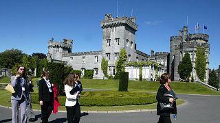 A Dromoland kastély Nyugat-Írországban