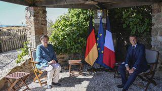 """Macron y Merkel recalcan la necesidad de la """"soberanía europea"""""""