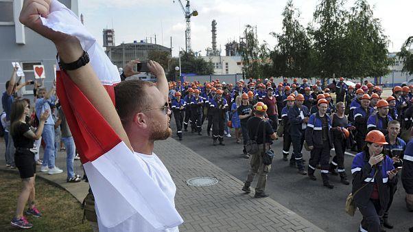 Clamor y silencio entre los bielorrusos que quieren cambios en el Gobierno