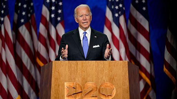 نائب الرئيس الأميركي سابقاً والمرشح عن الحزب الديمقراطي إلى الانتخابات الرئاسية جو بايدن