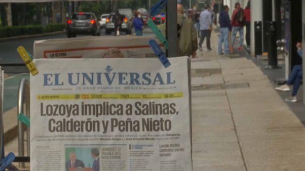 Primera página del periódico El Universal sobre el escándalo
