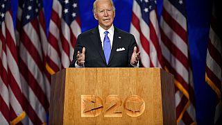 Biden acepta la candidatura demócrata a la presidencia de EEUU
