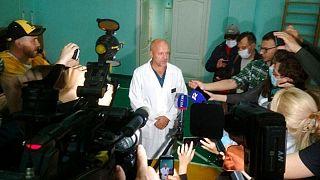 یکی از پزشکان بیمارستان امسک در روسیه