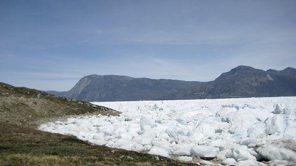 Eisschild auf Grönland.