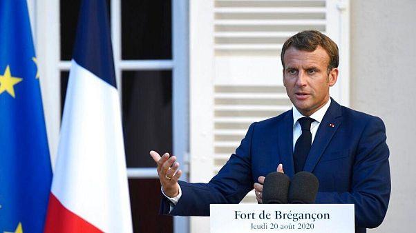 امانوئل ماکرون، رئيسجمهوری فرانسه