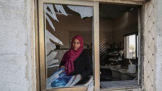 Il giorno dopo l'attacco aereo israeliano a Gaza