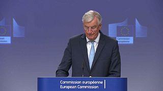 """Brexit : la négociation bloque, Barnier """"inquiet"""""""