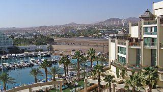 Symbolbild - Hotel in der Bucht von Eilat in Israel
