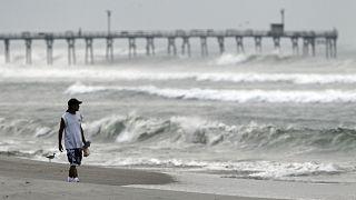 FILE PIC: Hurricane Earl heads toward the eastern coast in Atlantic Beach, N.C., Sept. 2, 2010.