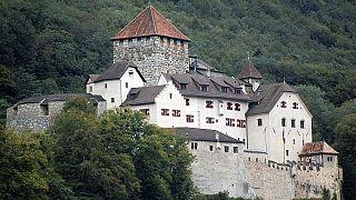 El Castillo de Vaduz, la casa de la familia real de Liechtenstein en Vaduz, Liechtenstein.