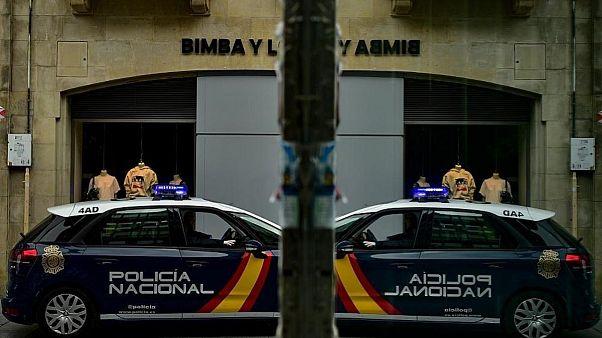 پلیس اسپانیا در منطقه ناوار