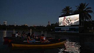 السينما العائمة في تل أبيب