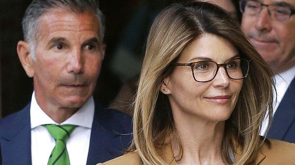 Lori Loughlin (rechts) und ihr Mann (links) im Juli 2020