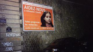 Plakat zur Suche von Estelle Mouzin ARCHIV