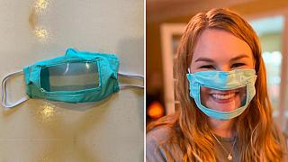 Şeffaf maske