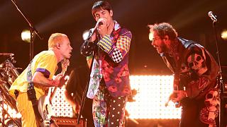 Red Hot Chili Peppers müzik grubu