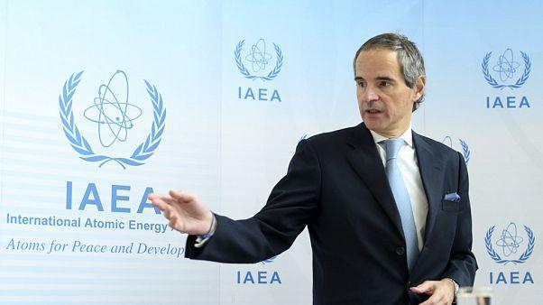 UAEA Başkanı Rafael Grossi