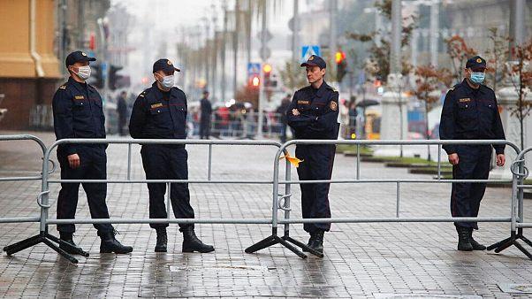 ماموران پلیس در بلاروس