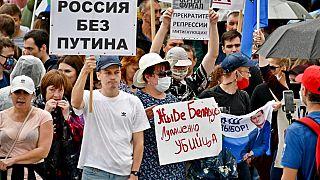 Proteste a Chabarovsk, Russia